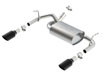 Wrangler JK 2 & 4 door 2012-2016 Rear Section Exhaust ATAK part # 11860BC