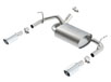 Wrangler JK 2 & 4 door 2012-2016 Rear Section Exhaust ATAK part # 11860