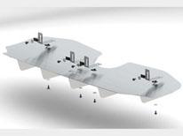 2012-2013 Audi TT-RS Exhaust Diffuser - fits 2.5L Manual Trans AWD 2-Door part # 77011