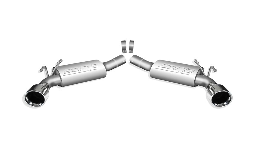 Camaro SS 2010-2013 Rear Section Exhaust Touring part # 11774 11774