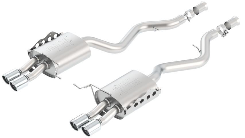E92  M3 Coupe/Conv 2008-2012 Rear Section Exhaust ATAK part # 11802 11802