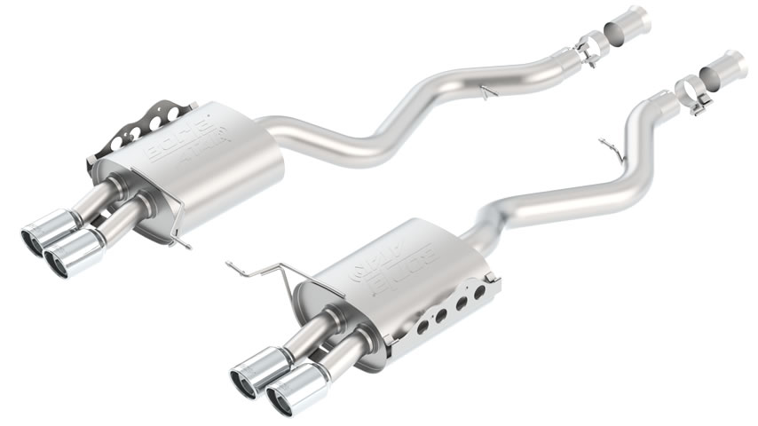 E90  M3 Sedan 2008-2011 Rear Section Exhaust part # 11803 11803