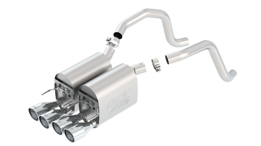 C6 Corvette 2005-2008 Rear Section Exhaust ATAK part # 11816 11816
