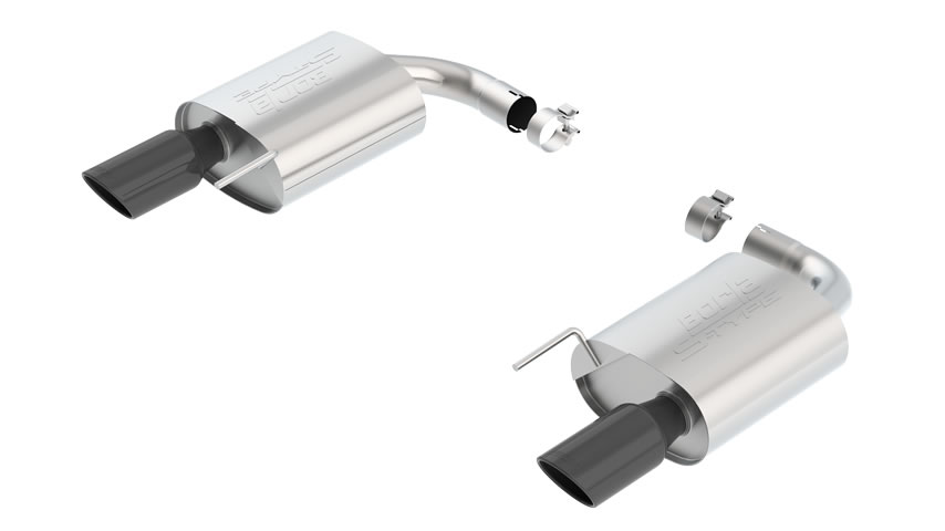 Mustang GT 2015 Rear Section Exhaust S-Type part # 11887BC 11887BC
