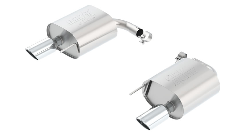 Mustang Eco Boost 2015 Rear Section Exhaust ATAK part # 11890 11890