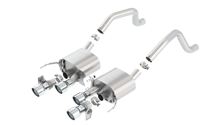 Corvette ZO6 2015 Rear Section Exhaust ATAK part # 11905 11905