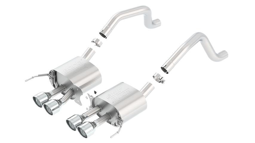 Corvette ZO6 2015 Rear Section Exhaust ATAK part # 11911 11911