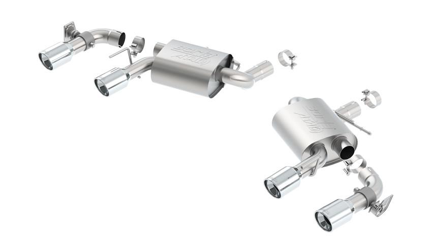Camaro SS W/ Dual Mode Exh.(NPP) 2016 Rear Section Exhaust ATAK part # 11925 11925