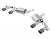 Camaro SS W/ Dual Mode Exh. (NPP) 2016-2018 Axle-Back Exhaust ATAK part # 11925CF