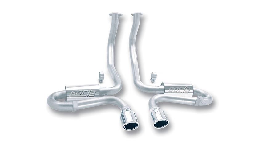 C5 Corvette/ C5 Corvette Z06 1997-2004 Cat-Back Exhaust S-Type Classic part # 140017 140017