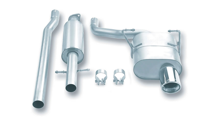 Cooper 2002-2007 Cat-Back Exhaust Touring part # 140030 140030
