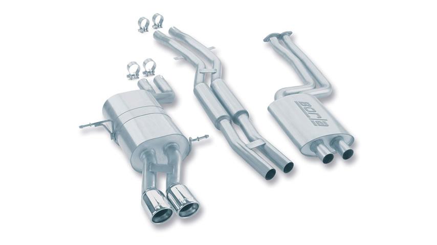 E46 325i/ 325ci/ 330i/ 330ci 2001-2006 Cat-Back Exhaust part # 140084 140084
