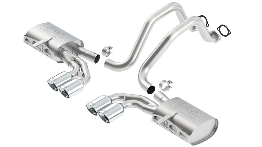 C5 Corvette/ C5 Corvette Z06 1997-2004 Cat-Back Exhaust ATAK part # 140428 140428