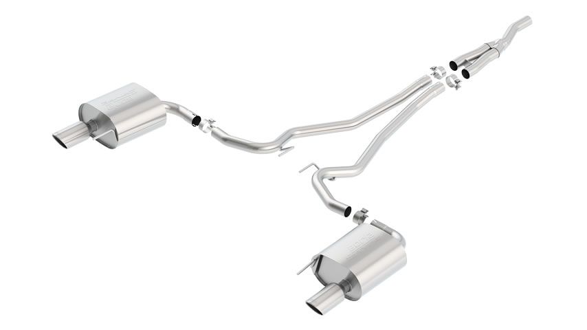 Mustang Eco Boost 2015 Cat-Back Exhaust S-Type part # 140584 140584