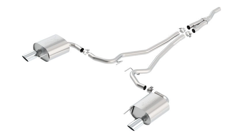 Mustang Eco Boost 2015 Cat-Back Exhaust ATAK part # 140585 140585