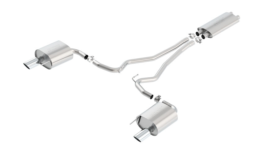 Mustang V6 2015 Cat-Back Exhaust Touring part # 140586 140586