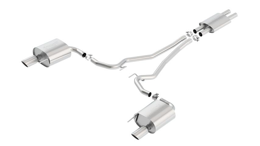 Mustang V6 2015 Cat-Back Exhaust part # 140587 140587