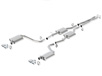 Challenger R/T 2015-2018 Cat-Back Exhaust Touring part # 140626