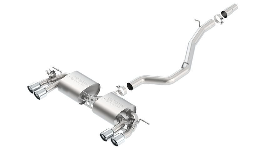 Golf-R 2015 Cat-Back Exhaust S-Type part # 140643 140643