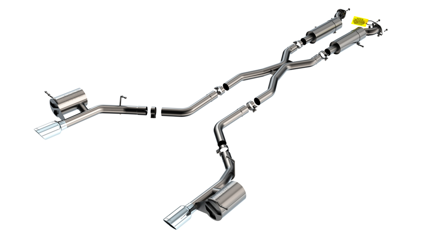 Durango SRT 2018-2020 Cat-Back Exhaust S-Type part # 140791 140791