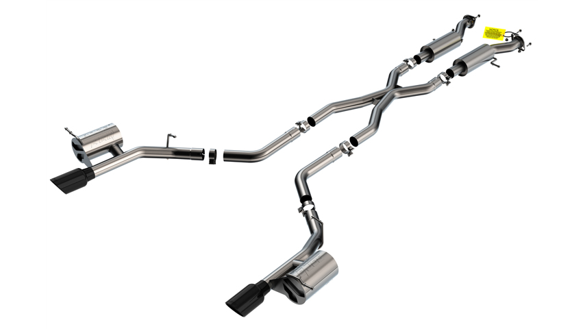 Durango SRT 2018-2020 Cat-Back Exhaust ATAK part # 140792BC 140792BC