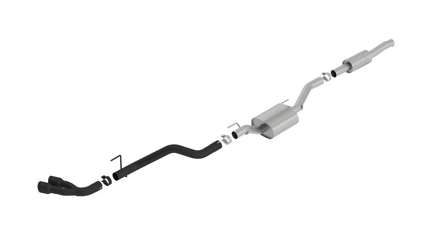 Gladiator 2020-2020 Cat-Back Exhaust ATAK part # 140813CB 140813CB