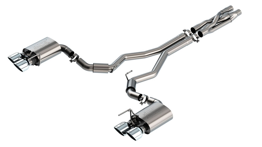 Mustang Shelby GT500 2020 Cat-Back Exhaust ATAK part # 140837 140837