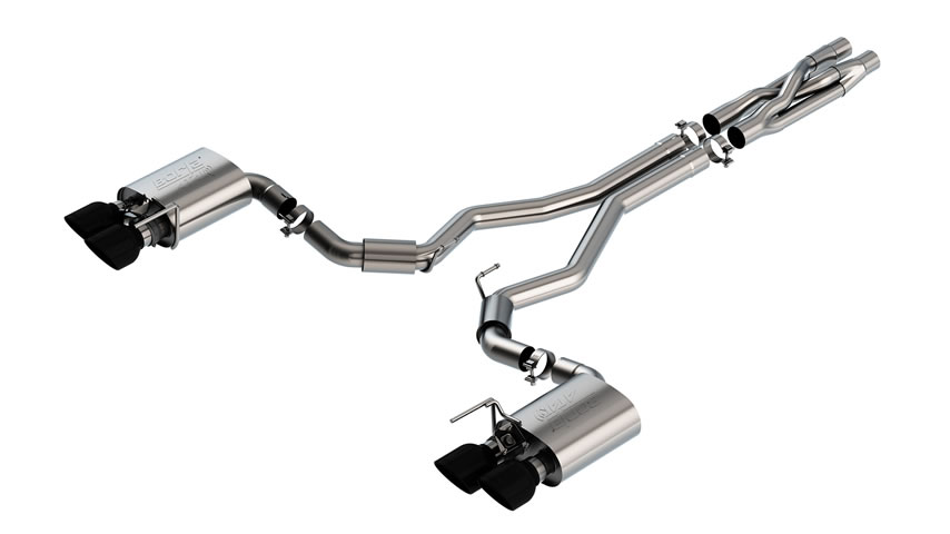 Mustang Shelby GT500 2020 Cat-Back Exhaust ATAK part # 140837BC 140837BC