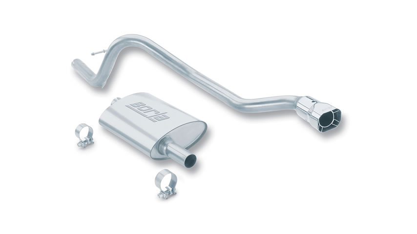 XJ Cherokee 1987-1992 Cat-Back Exhaust Touring part # 14200 14200