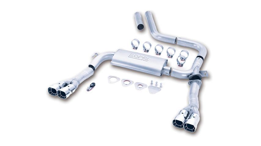 Camaro SS/ Camaro Z28/ Trans-Am/ Firebird/ Formula Firebird 1998-2002 Cat-Back Exhaust part # 14780 14780
