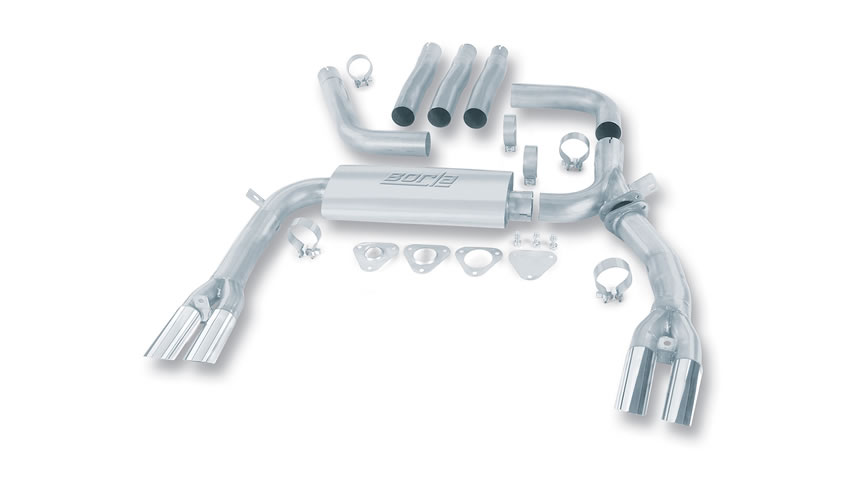 Camaro SS/ Camaro Z28/ Trans-Am/ Firebird/ Formula Firebird 1984-1992 Cat-Back Exhaust part # 14888 14888